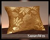 Golden Autumn Pillow