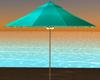 Tropical Aqua Umbrella