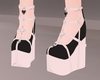 C! Doll Shoes - Black