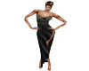 Reda Collection Blk Gown