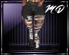 Ripped Jeans L + Tatt