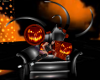 Halloween Chaise Right
