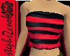 Tubetop In Black n Red