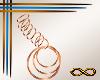 [CFD]4s-F Earring Bronze