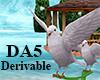 (A) Christmas Dove Swing