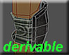 Derivable elbow pads