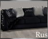 Rus Navy Lit Couch