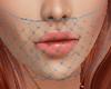 *A* Blue Face Veil