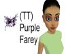 (TT) Purple Faery