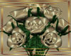 !LL! Ant. Gold Roses