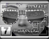 [BE]White Plaid Shades F