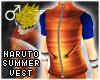 !T Naruto summer vest