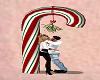 CandyCane Mistletoe Kiss