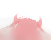 Pink Cow Horns