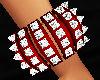 Diamond Red Bangle