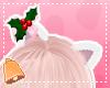 Fluffy Festive Ears Pink