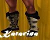 Viking Fur Boots