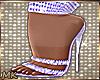 MK Bling Purple Heels