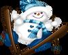Sking Snowman - 1