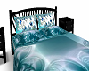*SCP* TEAL BLUE BED