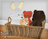 .B. FF Teddy Basket