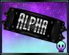 Alpha Armband R / M