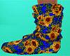 Sunflower Socks Slouch F