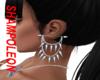 Glamour silver earrings