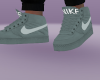 GRAY & WHITE AIR FORCES