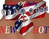 HOT ~ 4th Of July Choker