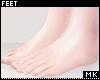 金. Perfect Feet