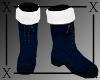 .X. Santa Baby Boots Blu