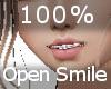100% Open Smile F
