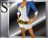 Loren white dress-jaket