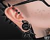 *V My Spiked Earrings.
