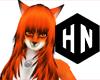 orange fox hair f