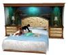 Fish Tank Bed w/ Poses