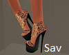 Boho Spiked Sandals