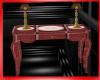 Titanic table & lamps