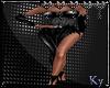 Vampire Gown Black