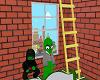 Cartoon Room | Ladder