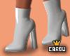 c. white boots