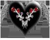 Black Heart Rose
