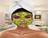 Advocado Face Mask
