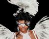 Mardi Gras White Mask