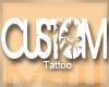 M| Six's Custom Tat