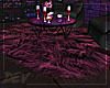 !D Purple Fur Rug
