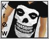 K | Skull V-Neck