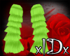 xIDx Lime ArmWarmers F/M