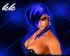 ![KK] BLUE FELICA HAIR